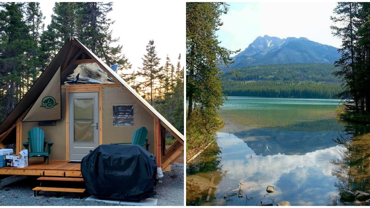 You Can Go Glamping In Banff National Park And The Views Are Absolutely Stunning