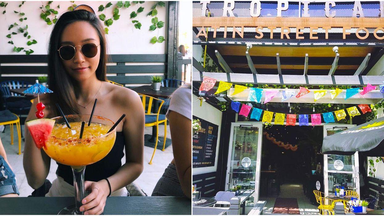 This Tropical Calgary Bar Serves Up Margaritas Bigger Than Your Head