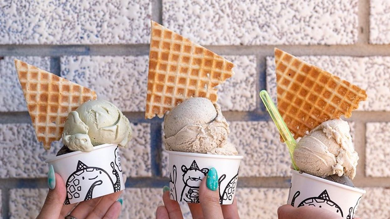 You Can Get Ice Cream Topped With A Waffle Cone At This Shop In Toronto