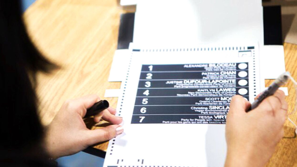 You Can 'Decline Your Vote' If You Don't Support Any Of Ontario's Election Candidates