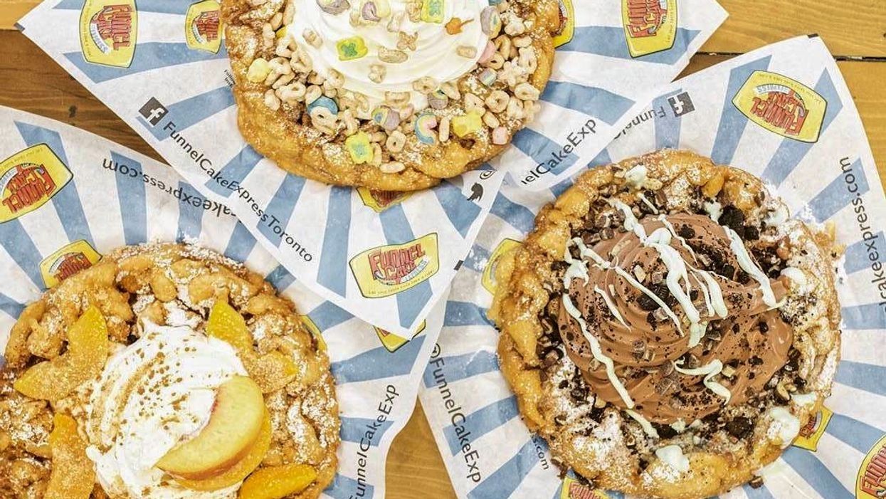 This Toronto Cafe Serves Massive Funnel Cakes In The Craziest Flavours