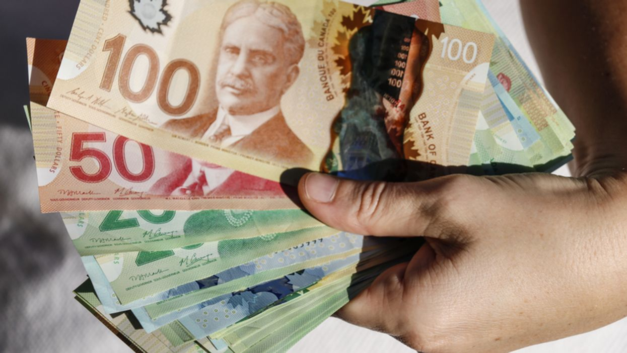 Someone Found A Plastic Bag Filled With $10,000 Cash In Toronto's Kensington Market (PHOTO)