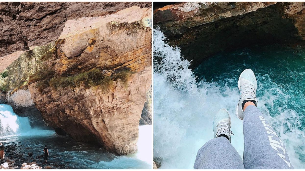 This 3km Boardwalk In Banff Takes You To The Coolest Canyon