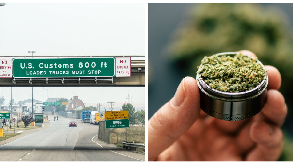 Les Canadiens reliés à l'industrie du cannabis seront officiellement bannis à vie des États-Unis