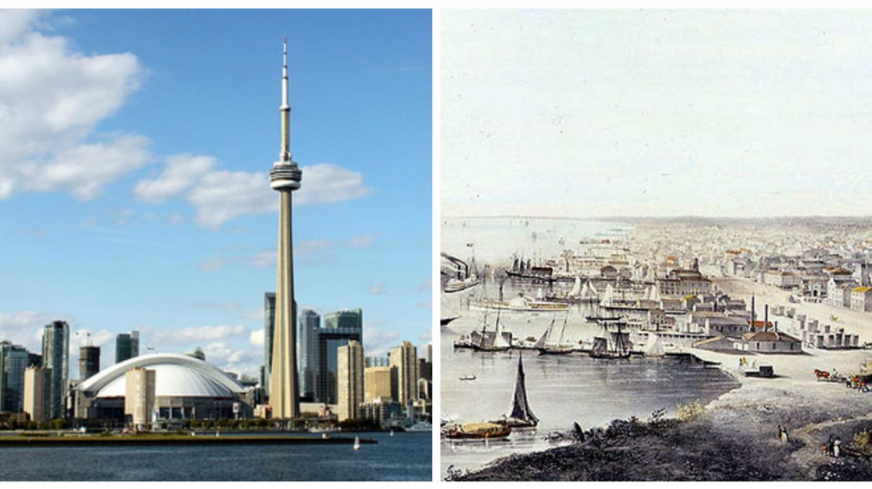 These Photos Of Canada's Biggest Cities Over 100 Years Ago Versus Today Are Trippy AF