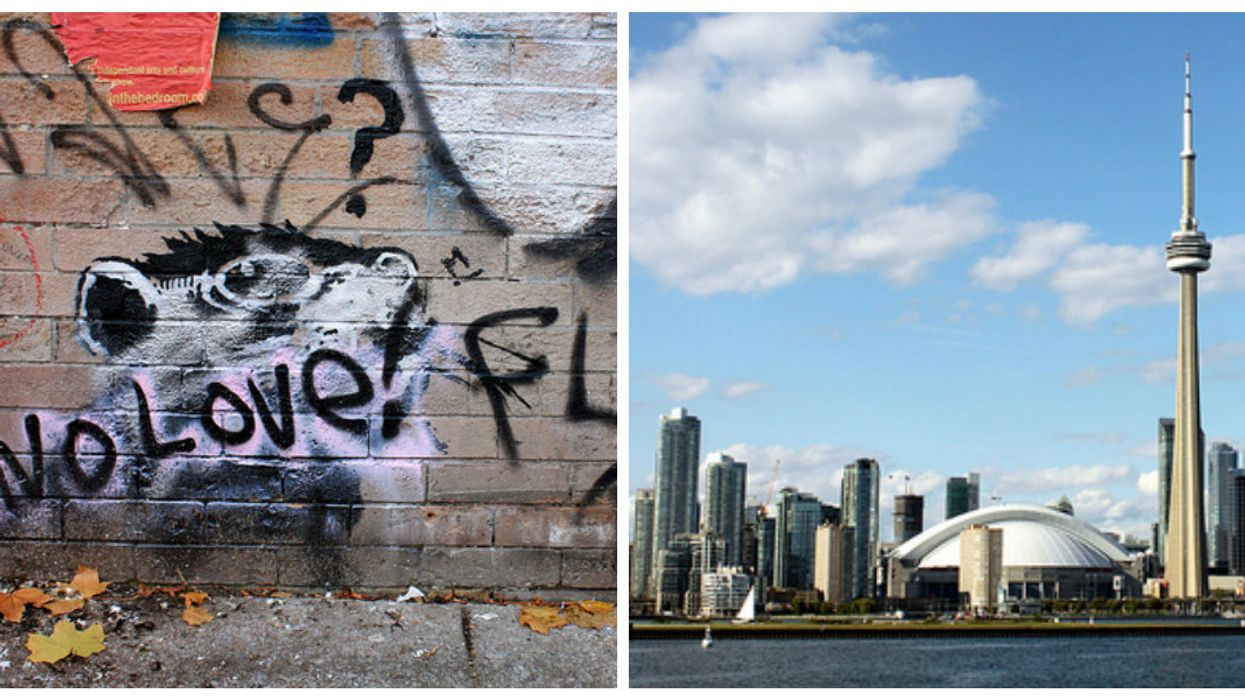 You Can Actually Visit All Of The Hidden Spots In Toronto Where Banksy Has Secretly Left Artwork