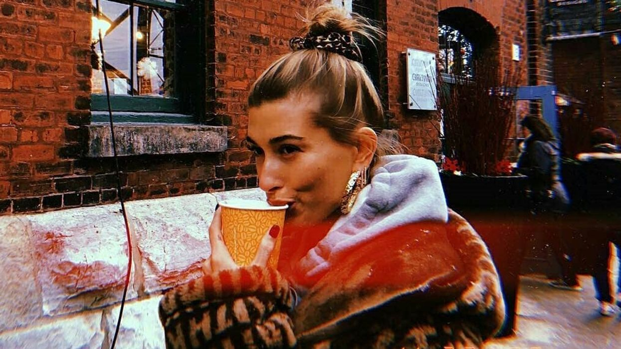 Hailey Baldwin Was Spotted Hanging Out At The Toronto Christmas Market Today