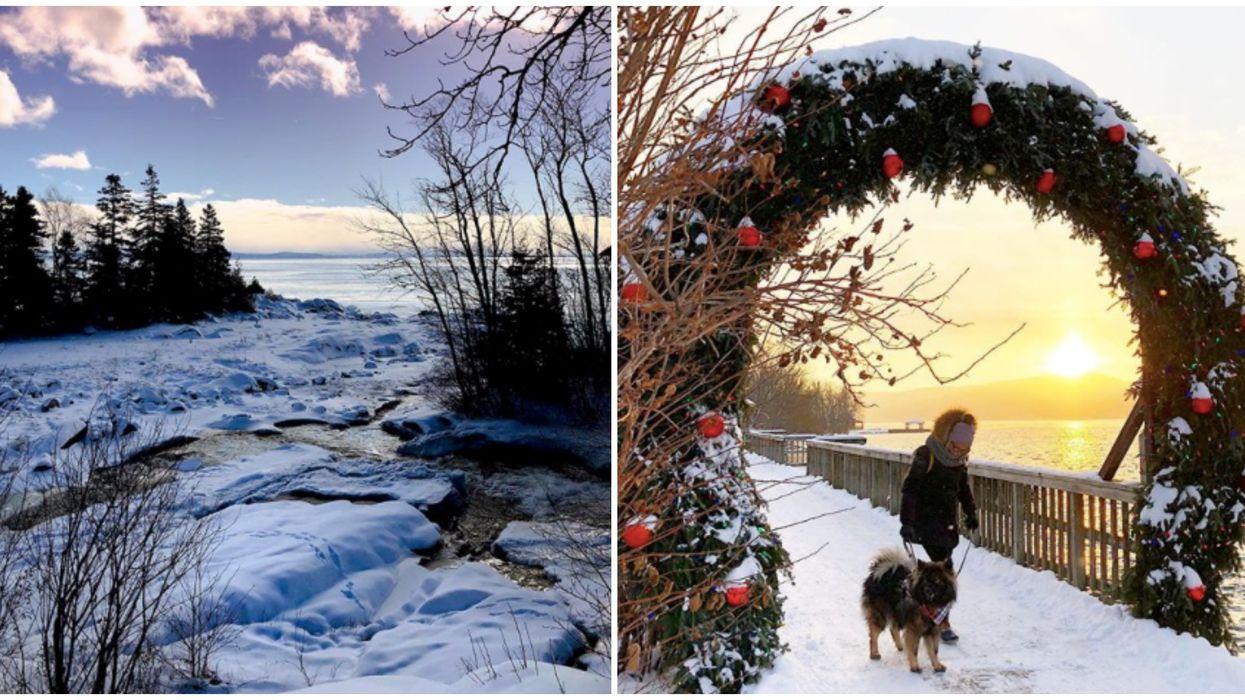 16 villages au Québec que tu dois visiter au lieu d'aller en Europe cet hiver