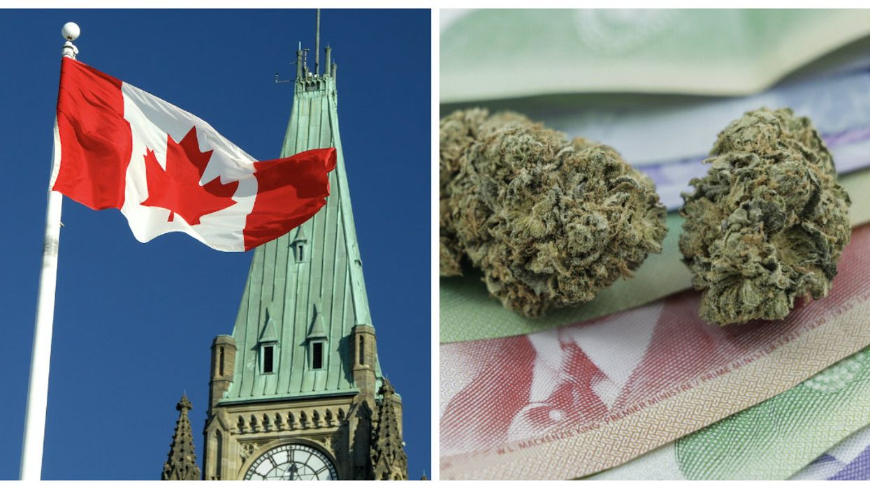 The Government Is Advising Canadians To Buy Their Weed With Cash, Even Though In Ontario It's Impossible To Do That Legally
