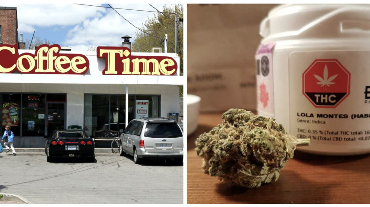 Coffee Time Plans To Convert Their Ontario Cafes Into Cannabis Stores In An Attempt To Stay Relevant