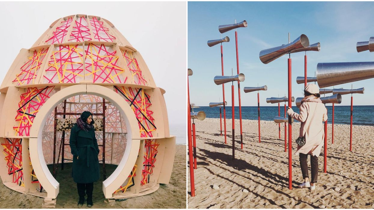 Toronto Is Getting Unique Art Installations Across The Waterfront This Winter