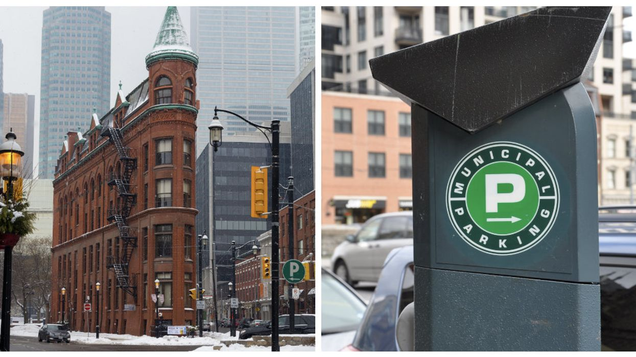 Toronto Parking Enforcement Is Taking A Holiday Break So Parking Around The City Will Be Free