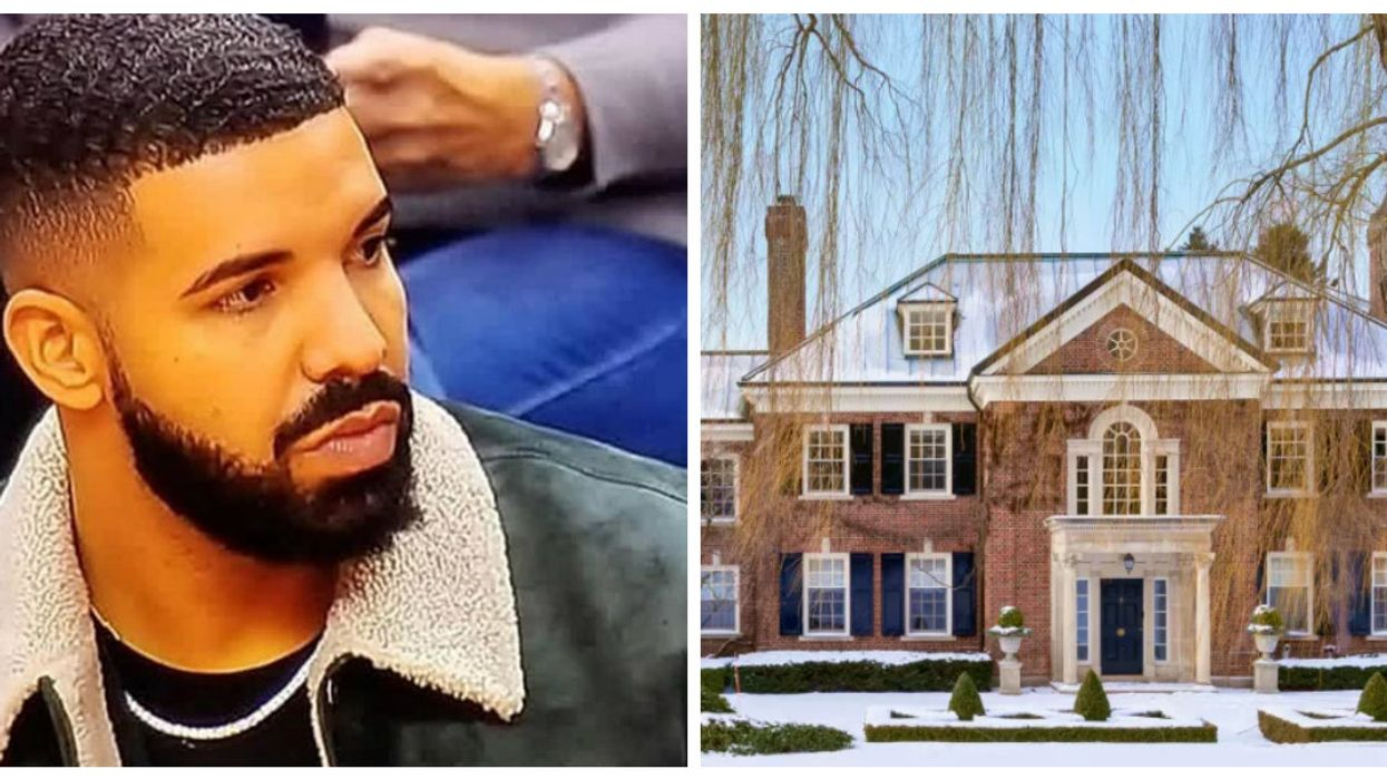 There's A $21 Million Mansion Right Beside Drake's House In Toronto