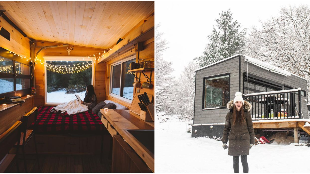 You Can Rent These Adorable Mini Cabins Across Ontario For A Magical Night In The Forest