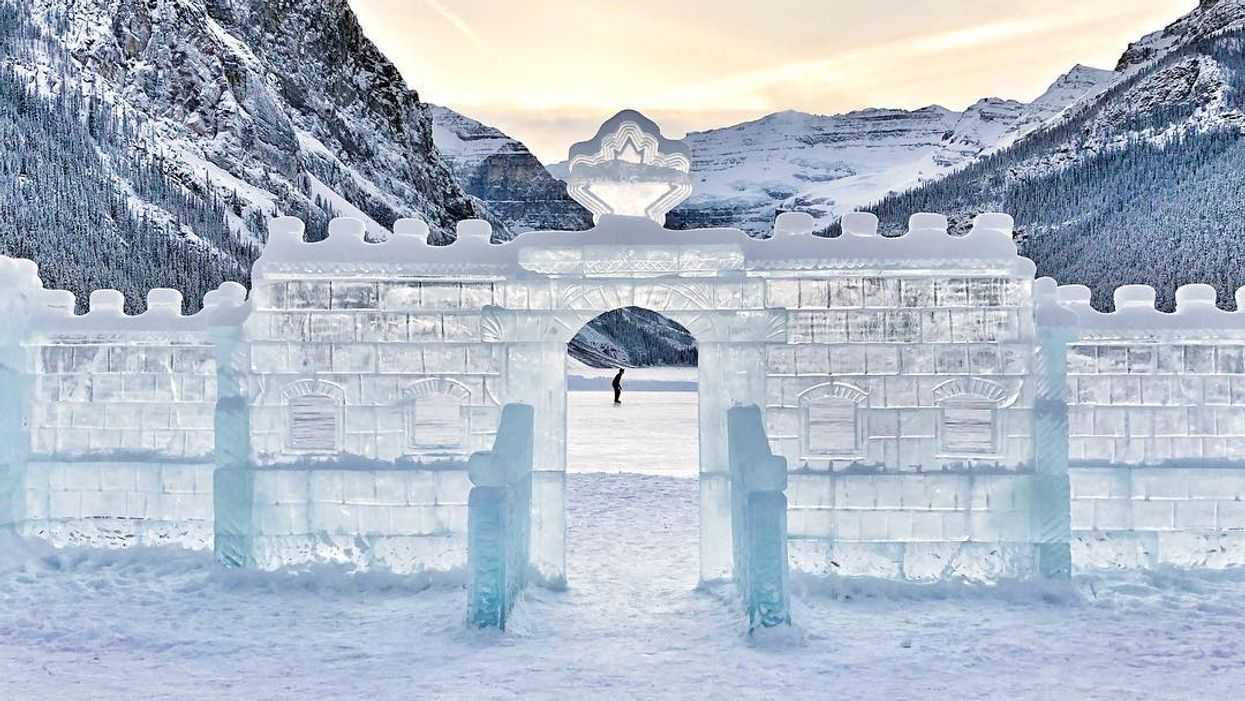 Alberta's Lake Louise Will Transform Into A Magical Outdoor Garden Of Ice Sculptures This Winter