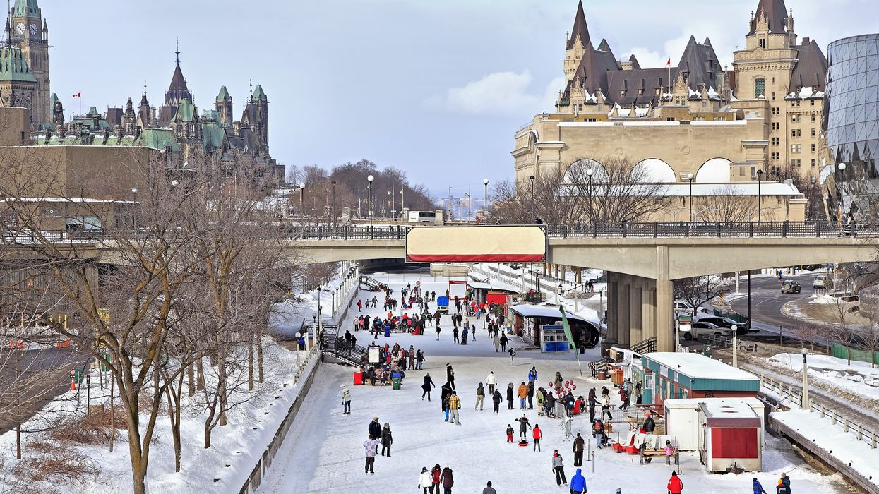 The Rideau Canal Skateway In Ottawa Is Finally Open For The Season