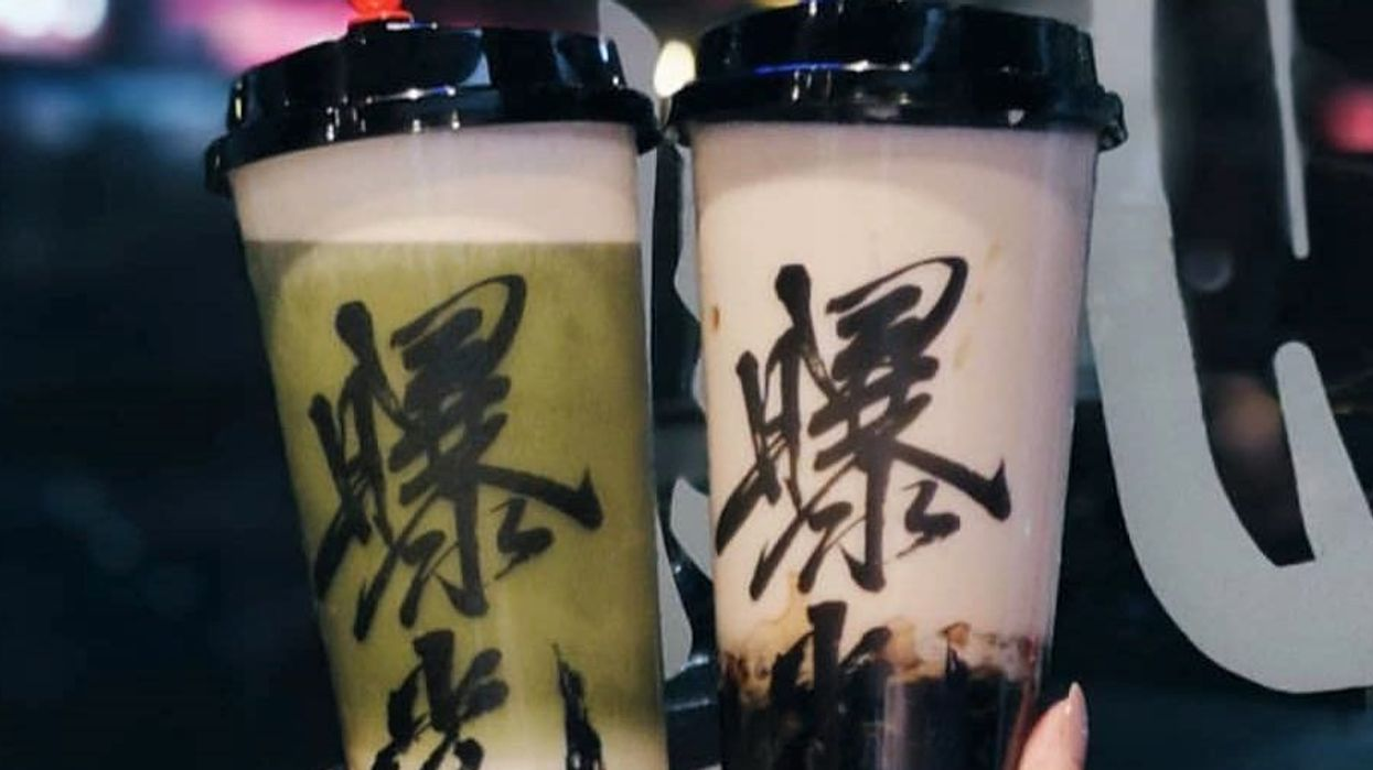 This Bubble Tea Shop In Vancouver Actually Gives Their Customers A Discount When It Rains