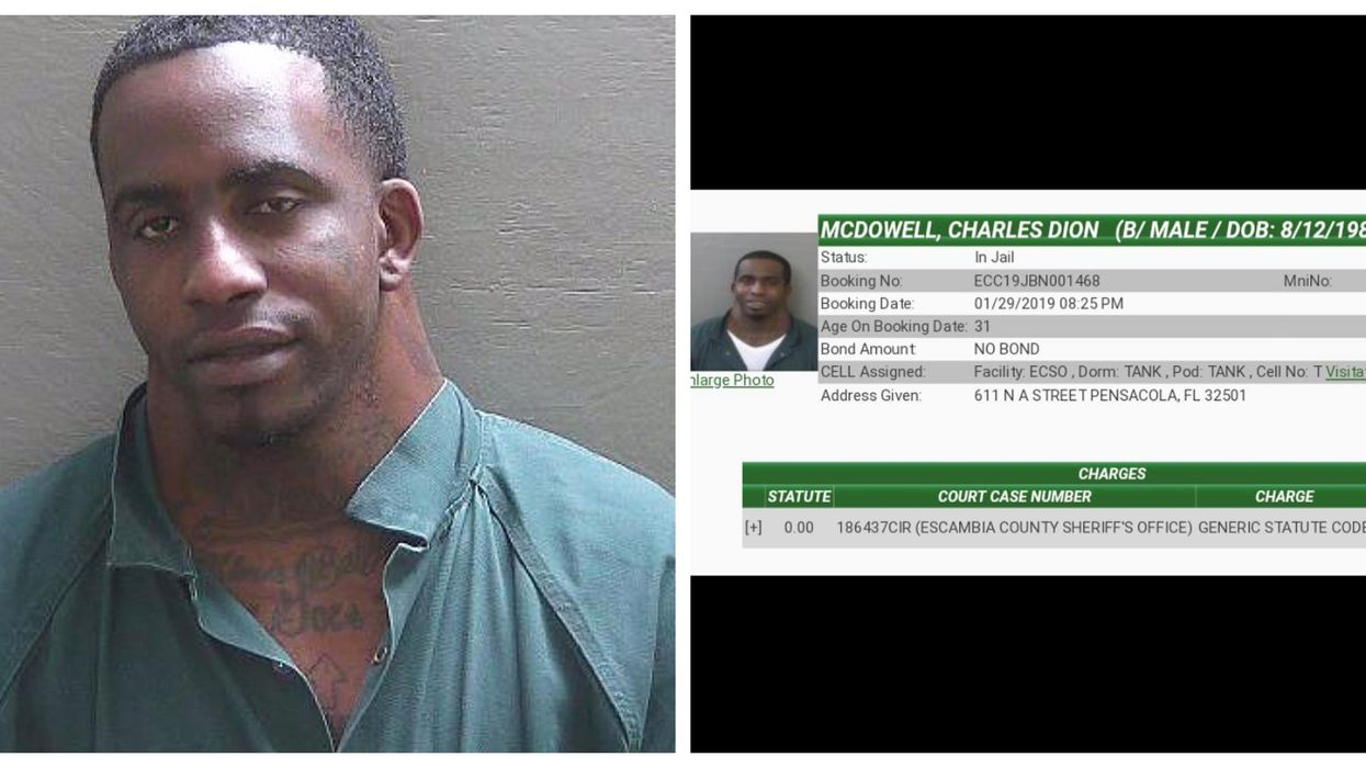 Wide Neck Was Arrested In Florida AGAIN And There's A New Mugshot
