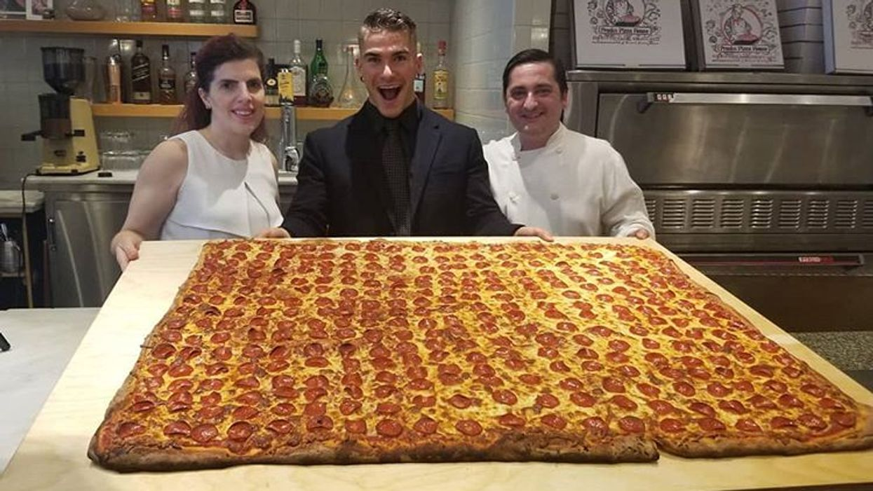 Canada's Largest Pizza Ever Was Just Made At This Toronto Restaurant