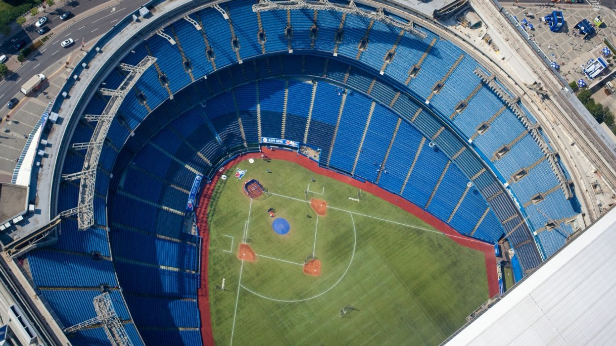 Blue Jays Game Had Lowest Attendance On Record In Nearly A Decade Last Night (PHOTOS)
