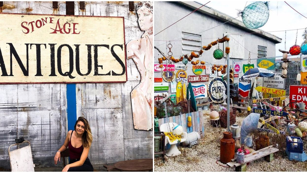 Tourists Flock To This Huge Unique Antique Shop In Florida For Edgy Photo Shoots