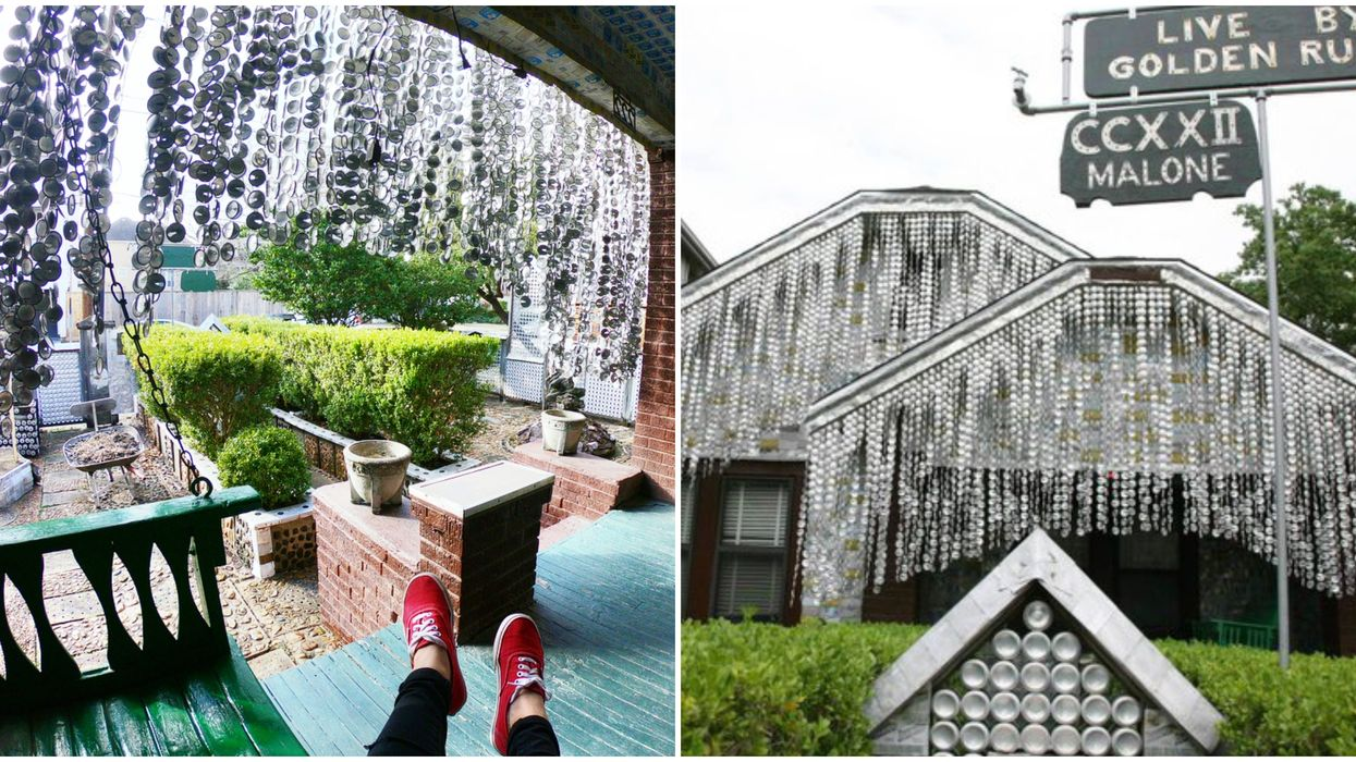 You Can Visit This Stunning House Made Of Over 50,000 Beer Cans In Houston