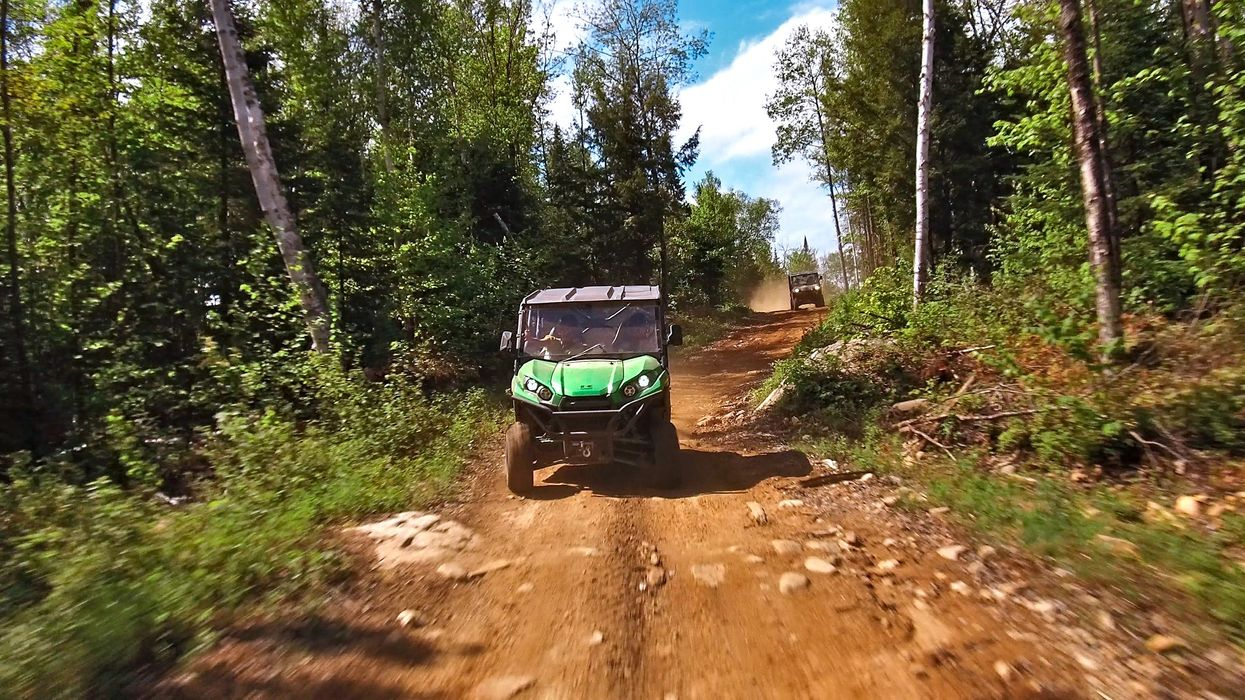You Can Ride Dune Buggies Through A Forest Trail In Quebec This Summer