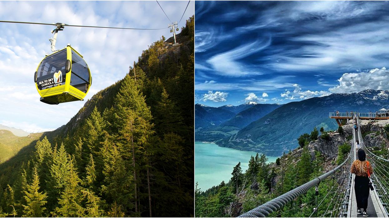 You Can Get 50% Off Rides At This Incredible Mountain Gondola Near Vancouver This Summer