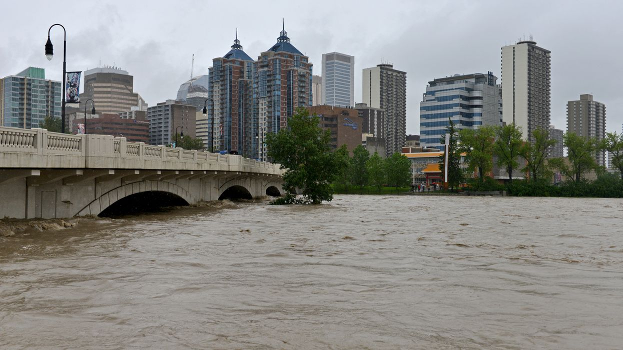 Major Parts Of Alberta Hit With Intense Flash Floods On The First Day Of Summer (PHOTOS)
