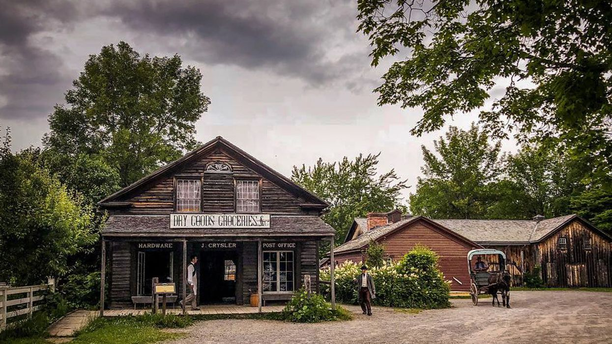 You Can Go On A Creepy Tour Of A Haunted Village After Dark Near Ottawa This Summer