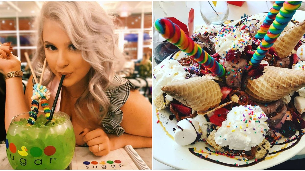 The Sugar Factory's Ridiculously Huge Desserts And Drinks Are Finally Coming To Atlanta