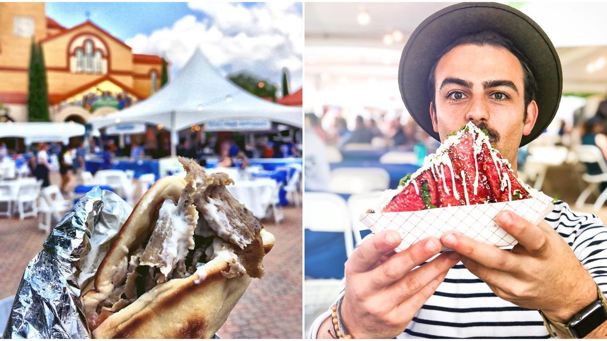 Dallas Is Having A Massive 3-Day Greek Food Fest Next Month