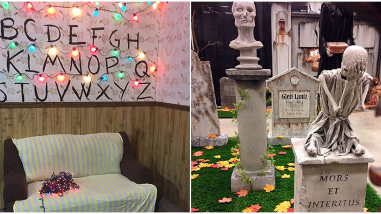 """You Can Sit In The """"Stranger Things"""" Living Room At An Ontario Horror Fest This Halloween"""