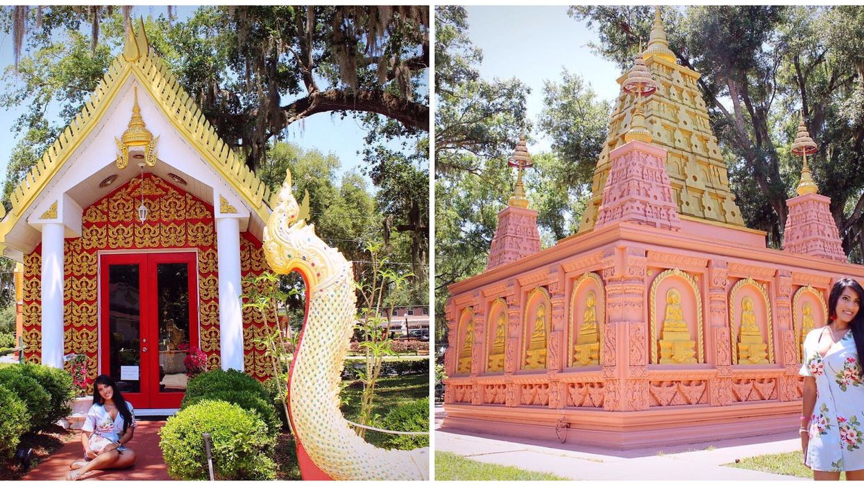 This Hidden Temple In Florida Will Make You Feel Like You Are In India