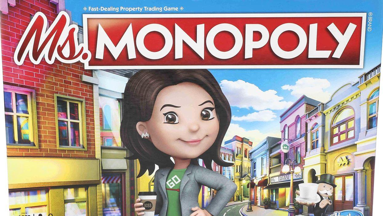 Les femmes gagnent plus d'argent que les hommes dans ce nouveau Monopoly