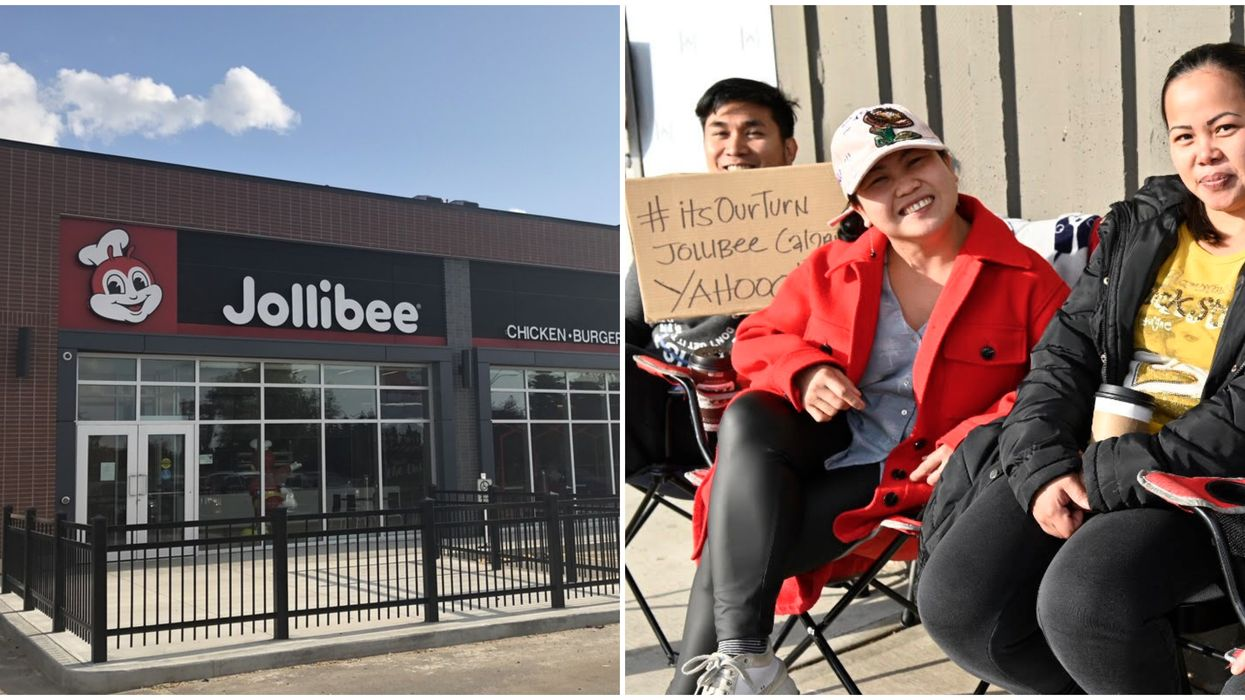 Calgary's First Ever Jollibee Opens Tomorrow & People Are Already Lining Up