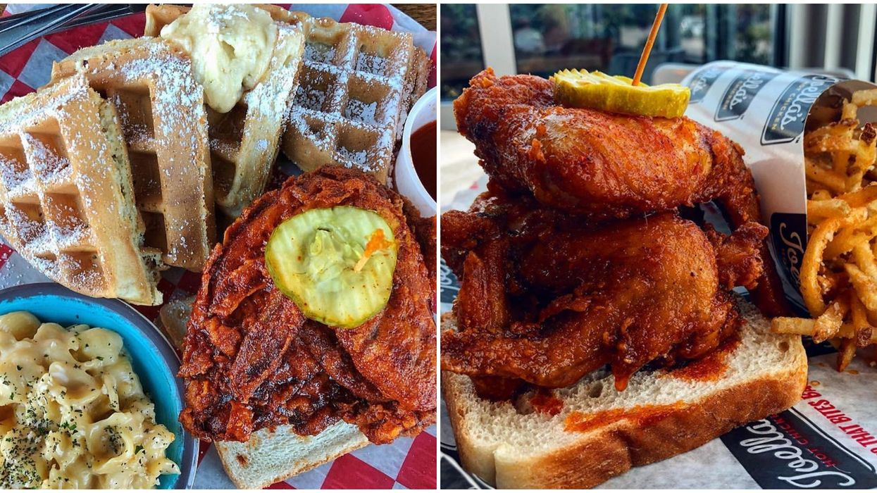 Joella's Hot Chicken Requires You To Sign A Waiver To Try Their Hottest Carolina Reaper Sauce