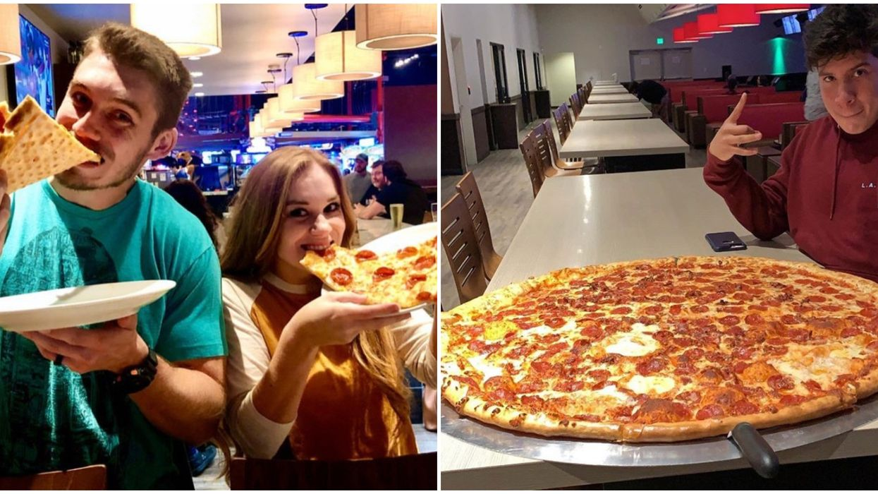 Pinstack Dallas Has Massive Pizzas For A Limited Time