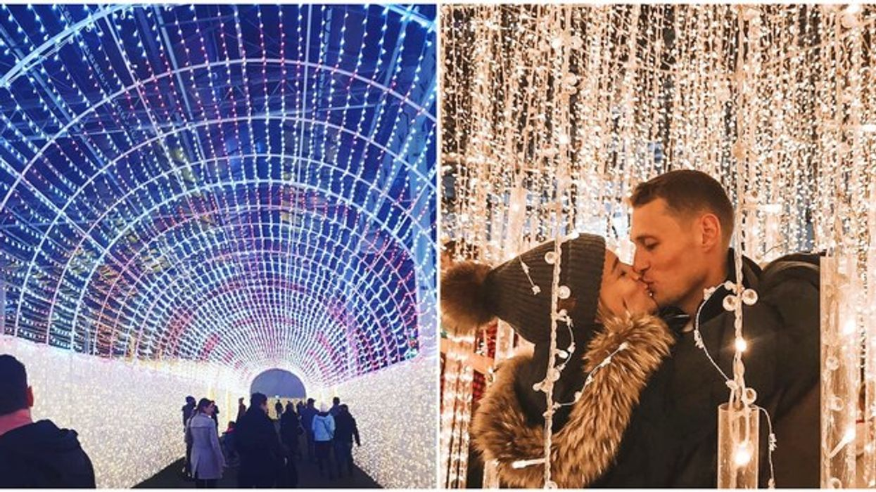 A Massive Christmas Light Maze Is Opening Near Vancouver This Month