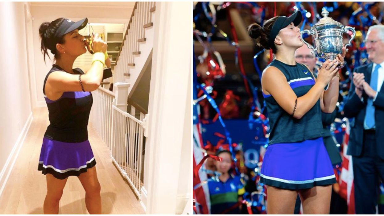 Canada's Costumes Of Bianca Andreescu (& Her Mom) Were On Point For Halloween 2019