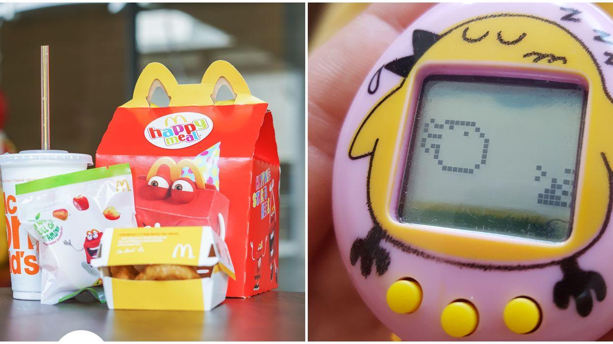 Les jouets de notre enfance sont de retour chez McDonald's et on est méga nostalgique