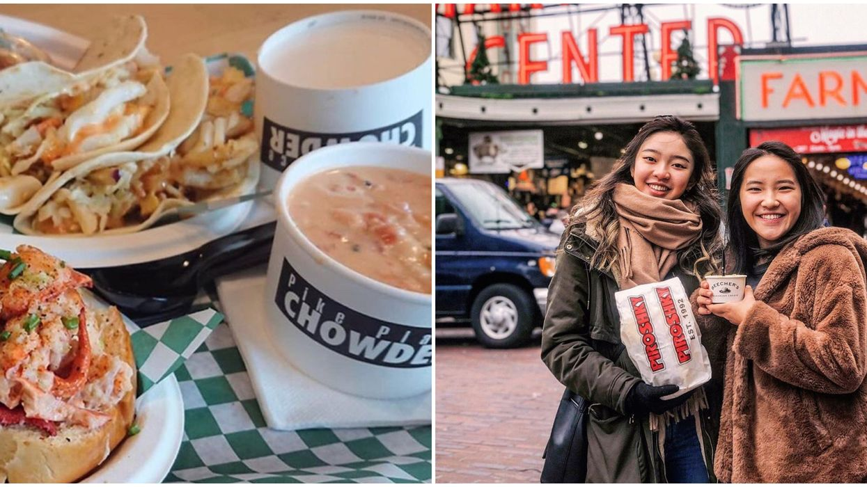 15 Bucket List Foods You Have To Try At Seattle's Pike Place Market Once In Your Lifetime