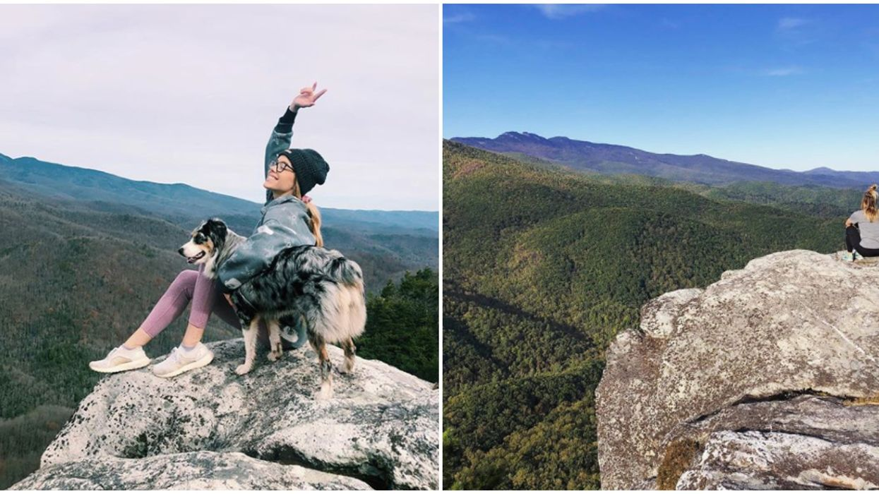 This North Carolina Trail Will Make You Feel On Top Of The World