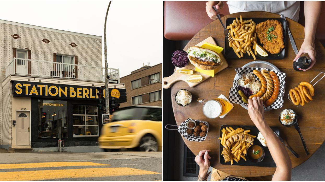 Ce restaurant montréalais te donnera l'impression d'être en plein coeur de Berlin
