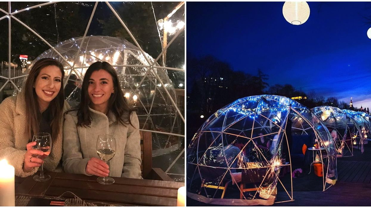 Dine Under The Stars In Edmonton Is The Best Double Date Coming This Spring