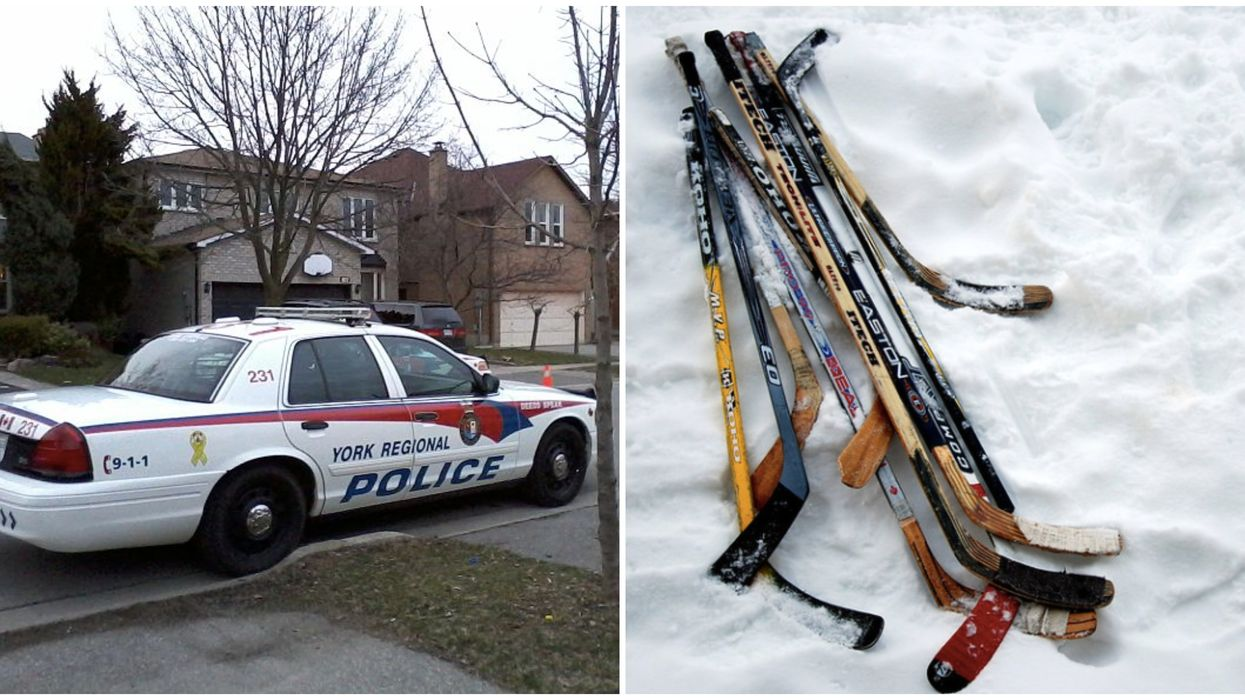 2 Toronto Men Got Into A Vicious Brawl With Hockey Sticks This Morning