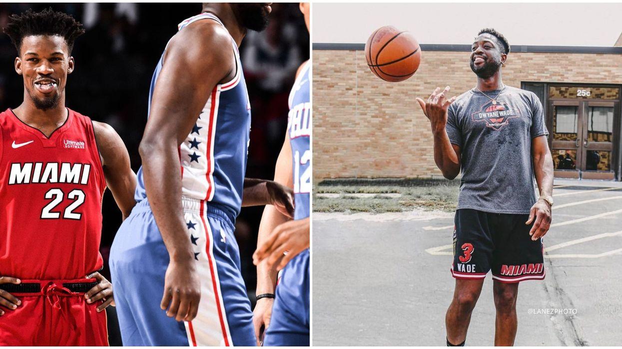Jimmy Butler Parting Ways With Jordan Puts Him In Dwyane Wade's Sight
