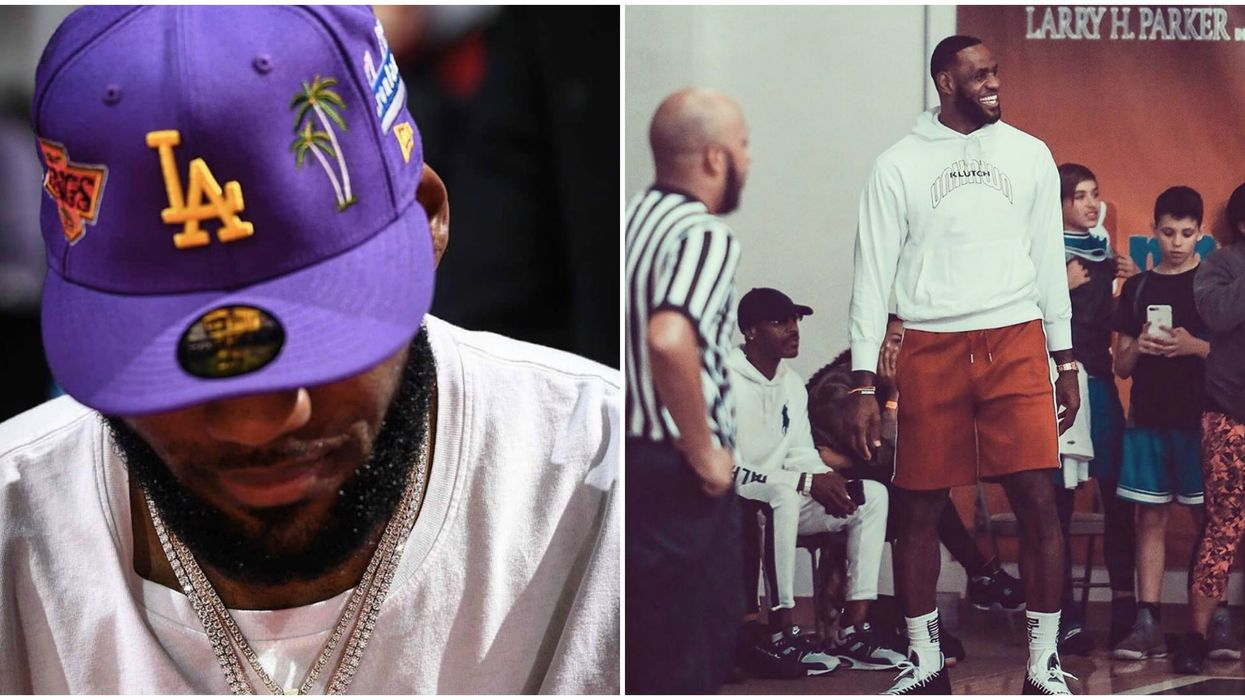 Lebron James Naps During NFL Game, Then Tweets About It