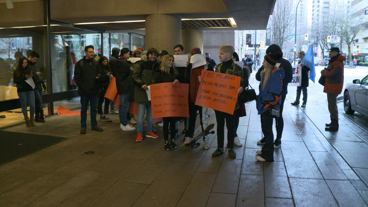 A Vancouver Man Mistook Protests For A Music Video Outside Meng Wanzhou's Hearing