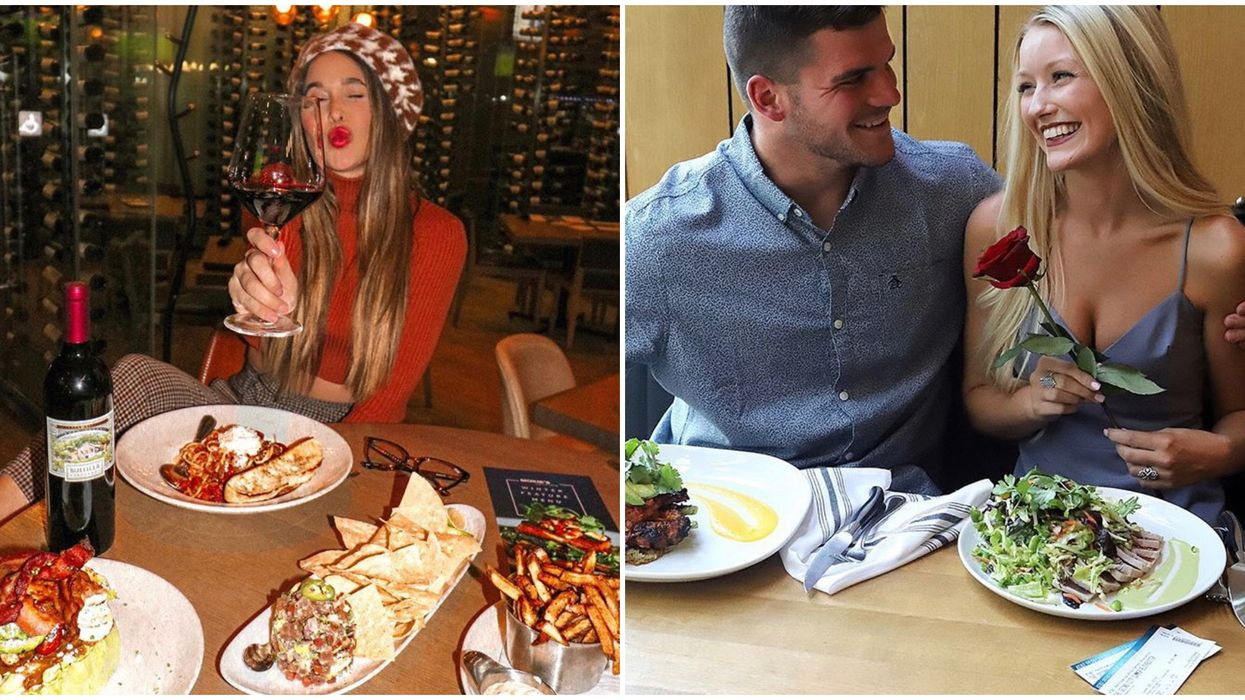 Mississauga Date Restaurants Your S/O Secretly Wants To Go To This Valentine's Day
